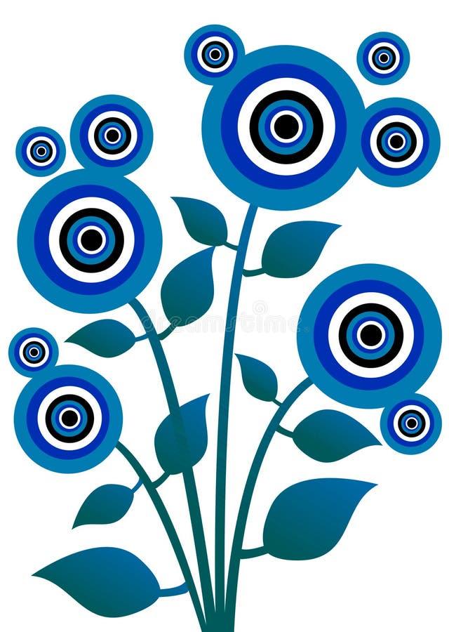 όμορφο λουλούδι 23 απεικόνιση αποθεμάτων