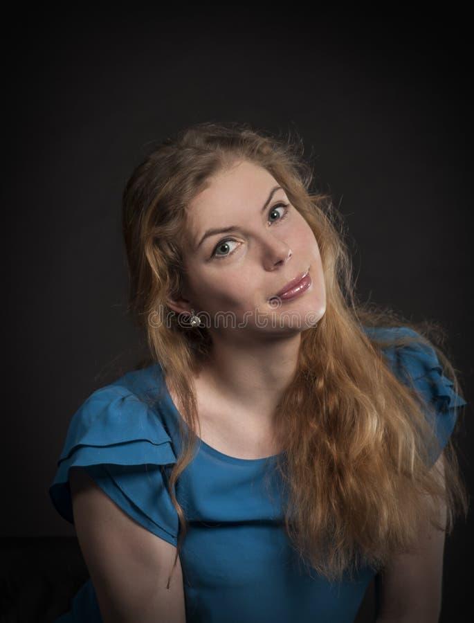 όμορφο μακροχρόνιο πορτρέ&tau στοκ φωτογραφία με δικαίωμα ελεύθερης χρήσης