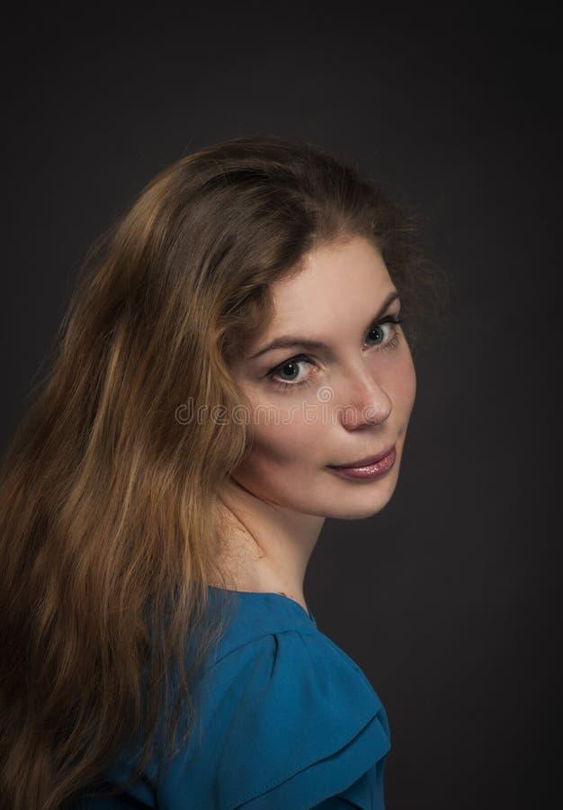 όμορφο μακροχρόνιο πορτρέ&tau στοκ εικόνες