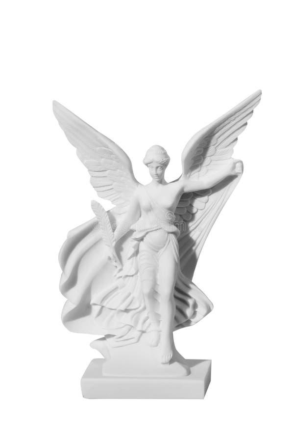 Όμορφο νέο άγαλμα αγγέλου γυναικών στοκ φωτογραφίες
