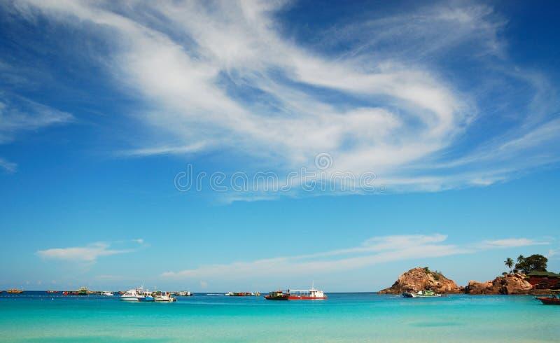 Όμορφο νησί στοκ εικόνα με δικαίωμα ελεύθερης χρήσης