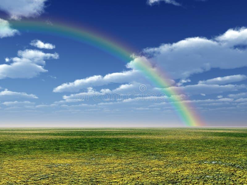 Όμορφο ουράνιο τόξο στοκ φωτογραφίες με δικαίωμα ελεύθερης χρήσης