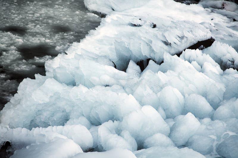 Όμορφο παγωμένο τοπίο στον καταρράκτη Krimml, Αυστρία στοκ φωτογραφία με δικαίωμα ελεύθερης χρήσης