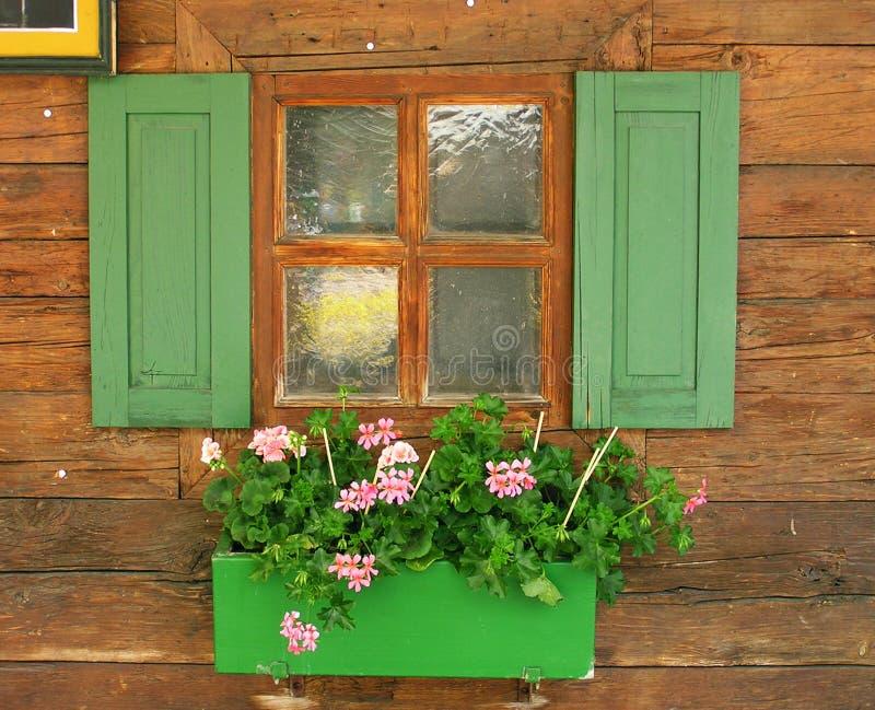 όμορφο παράθυρο Στοκ Εικόνες