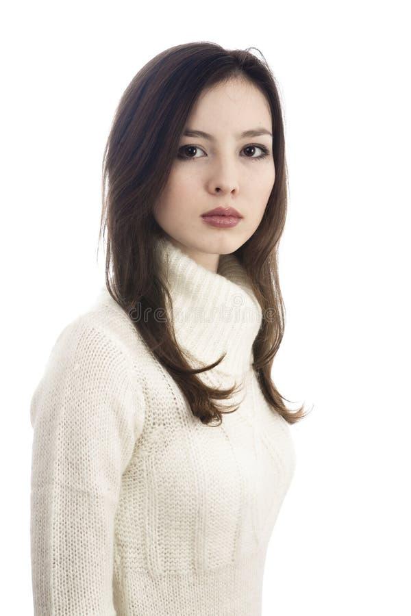 Download όμορφο πορτρέτο κοριτσιών στοκ εικόνα. εικόνα από πρόσωπο - 13183639