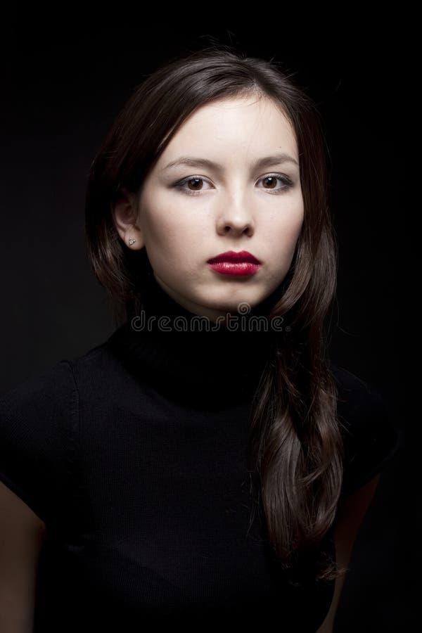 Download όμορφο πορτρέτο κοριτσιών στοκ εικόνα. εικόνα από ένας - 13183669