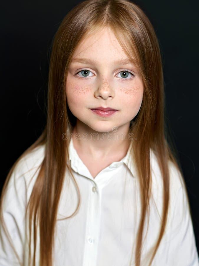 όμορφο πορτρέτο παιδιών στοκ εικόνες με δικαίωμα ελεύθερης χρήσης