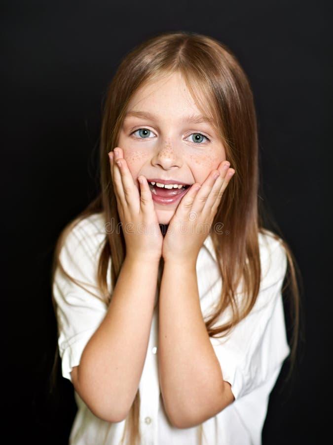 όμορφο πορτρέτο παιδιών στοκ εικόνα