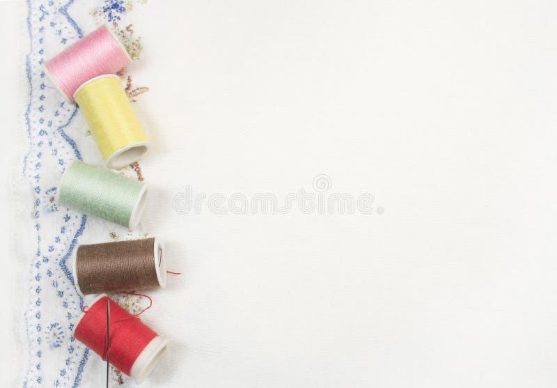 όμορφο ράψιμο ανασκόπησης στοκ εικόνες με δικαίωμα ελεύθερης χρήσης