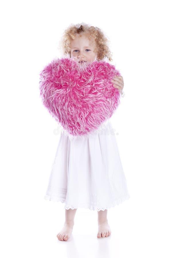 όμορφο ροζ μαξιλαριών καρ&de στοκ εικόνες