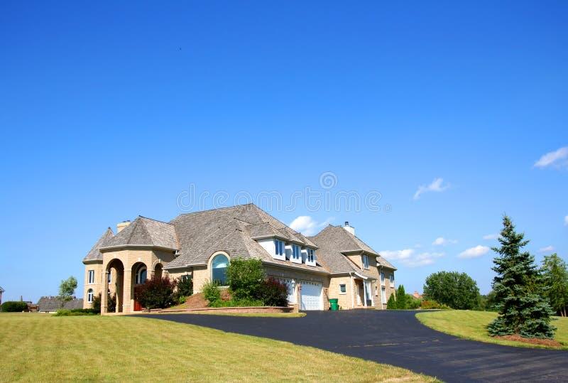 όμορφο σπίτι στοκ φωτογραφίες