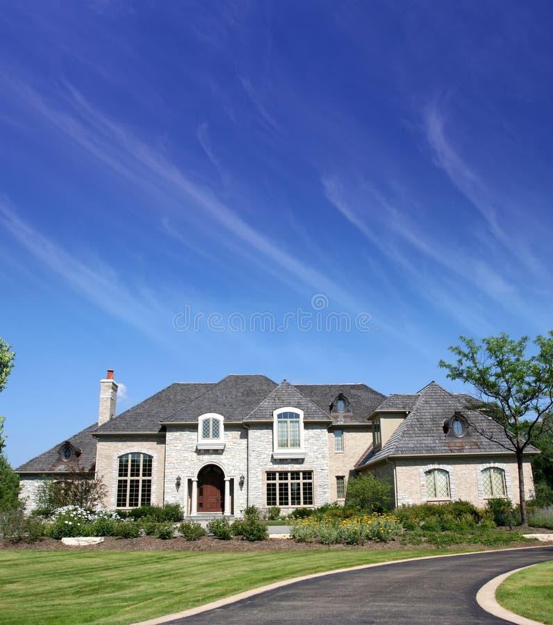 όμορφο σπίτι στοκ εικόνα