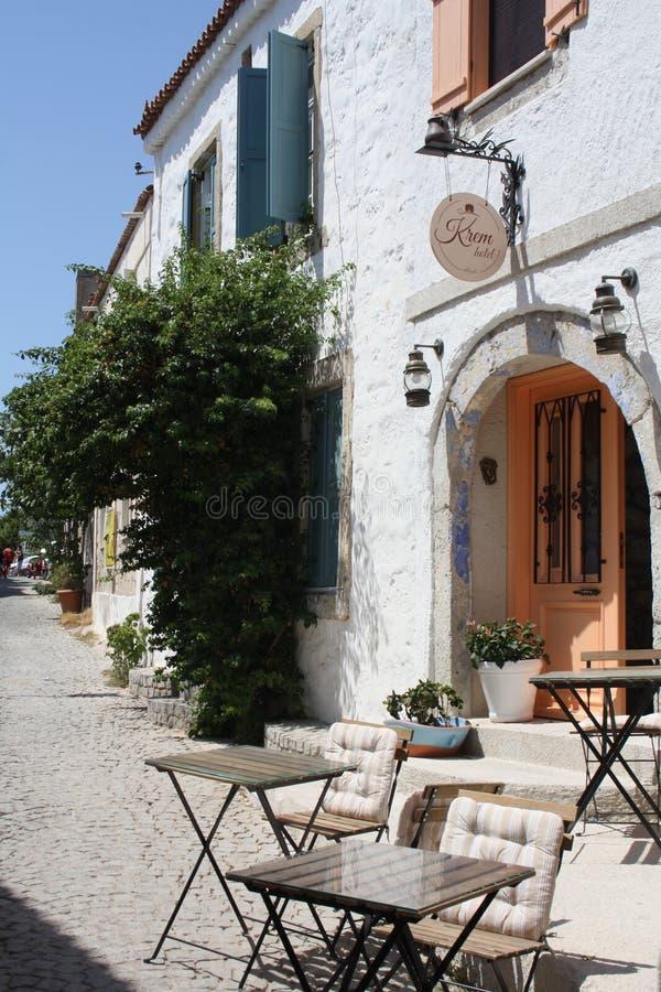 Όμορφο σπίτι Foça στοκ φωτογραφία με δικαίωμα ελεύθερης χρήσης