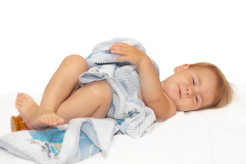όμορφο σπορείο μωρών στοκ εικόνα