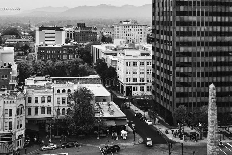 Όμορφο στο κέντρο της πόλης Άσβιλλ στοκ φωτογραφία με δικαίωμα ελεύθερης χρήσης