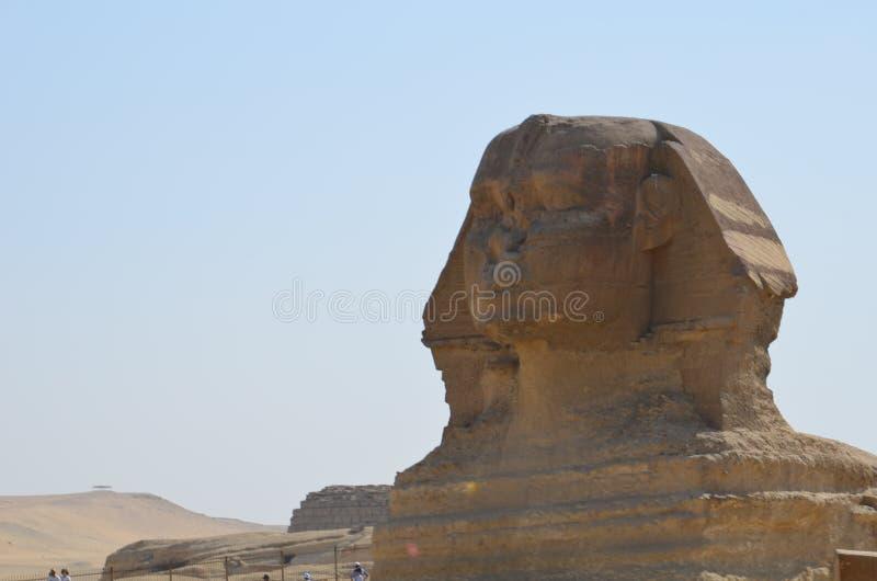 Όμορφο σχεδιάγραμμα του μεγάλου Sphinx στοκ φωτογραφίες