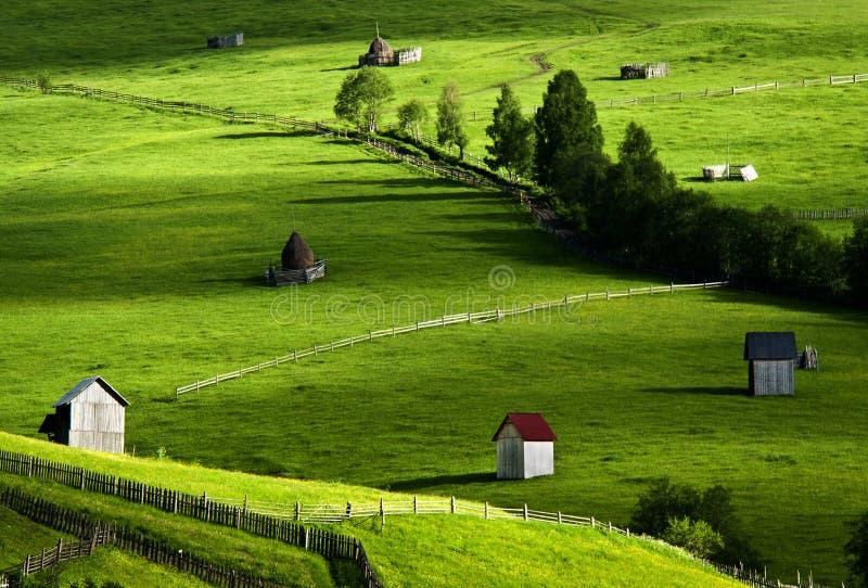 Όμορφο τοπίο μέσα βόρεια της Ρουμανίας στοκ εικόνα με δικαίωμα ελεύθερης χρήσης