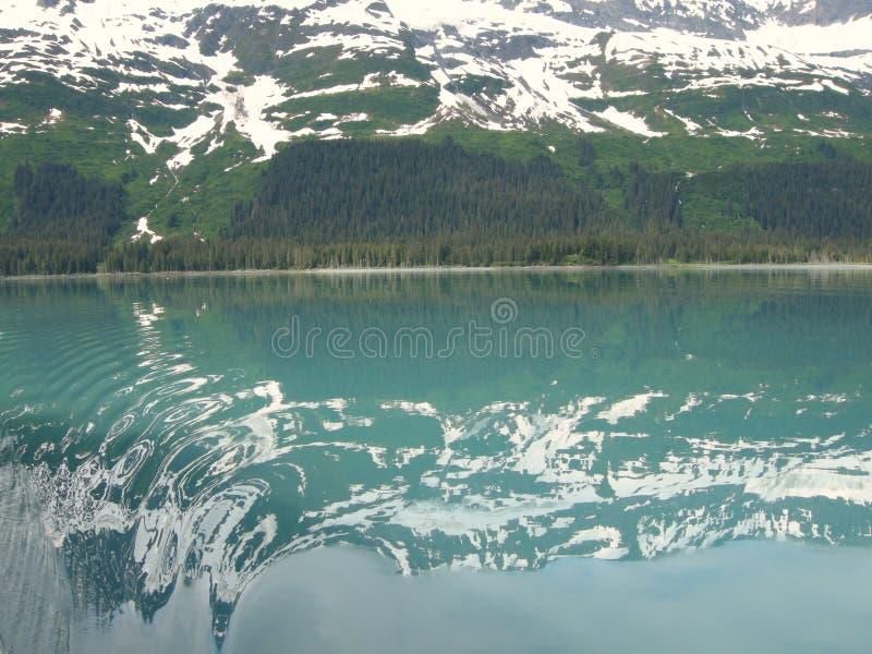 όμορφο τοπίο της Αλάσκας στοκ εικόνες