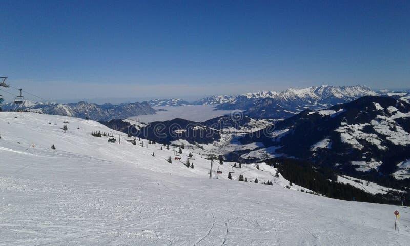 Όμορφο τοπίο της Αυστρίας στοκ εικόνες