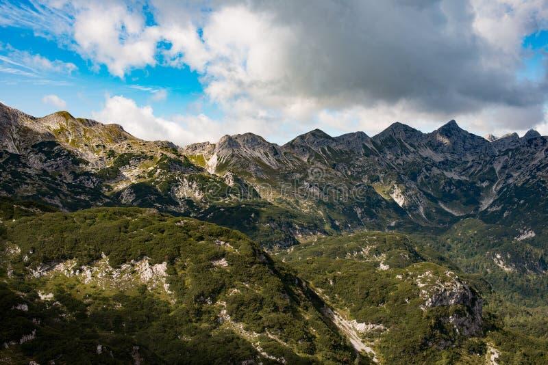 Όμορφο τοπίο των ιουλιανών Άλπεων, Σλοβενία, Ευρώπη στοκ φωτογραφίες