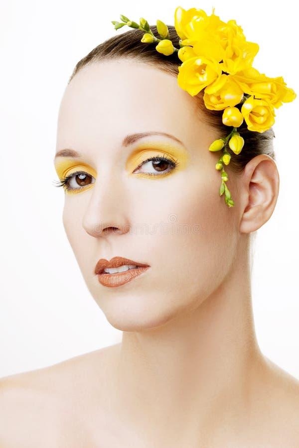 όμορφο τρίχωμα λουλουδ&i στοκ φωτογραφίες