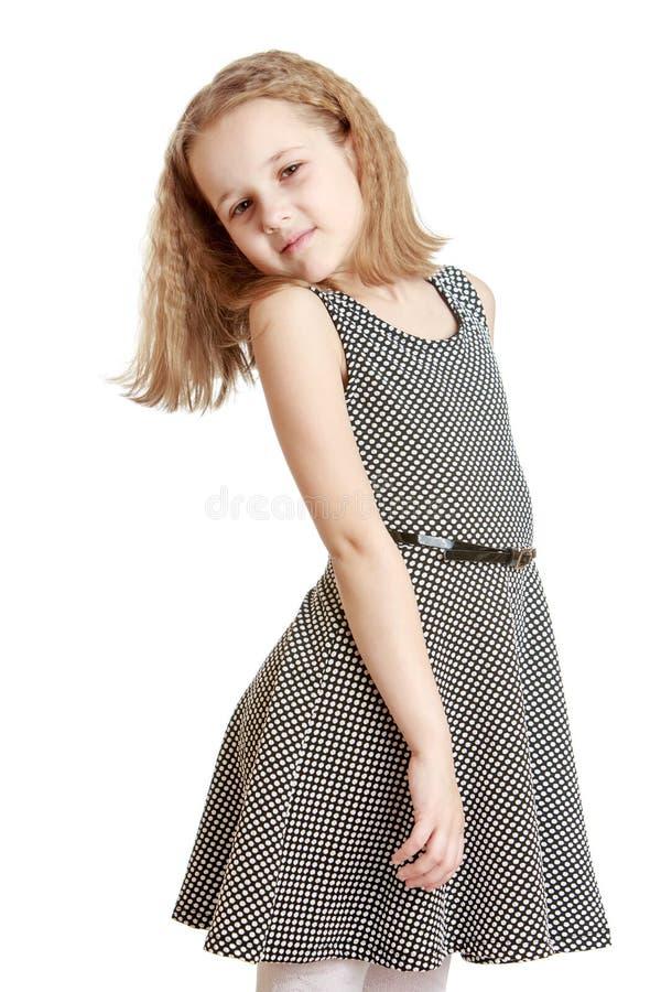 Όμορφο φόρεμα κοριτσιών στοκ φωτογραφίες με δικαίωμα ελεύθερης χρήσης