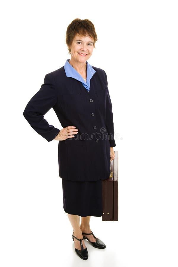 όμορφο χαμόγελο επιχειρηματιών στοκ φωτογραφία με δικαίωμα ελεύθερης χρήσης
