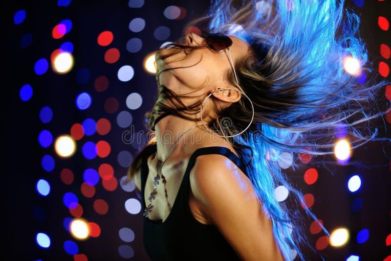 όμορφο χορεύοντας θηλυ&kap στοκ φωτογραφία