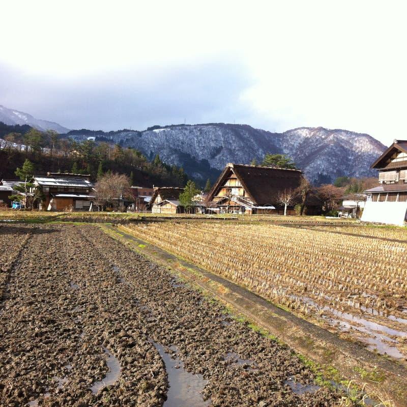 όμορφο χωριό στοκ εικόνες με δικαίωμα ελεύθερης χρήσης