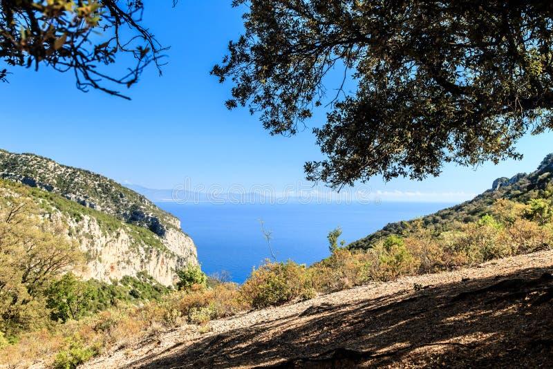 Όμορφο Cala Goloritzè στη Σαρδηνία στοκ φωτογραφίες