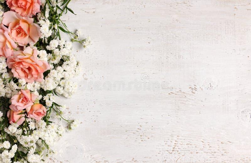 Όμορφο floral πλαίσιο στοκ εικόνες