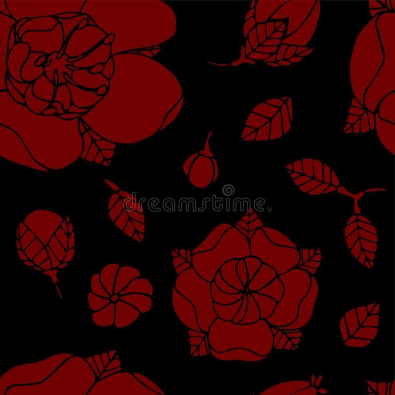 όμορφο floral πρότυπο στοκ φωτογραφία με δικαίωμα ελεύθερης χρήσης