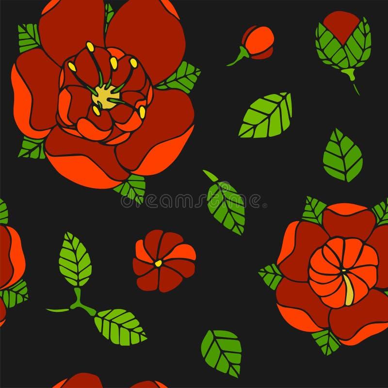 όμορφο floral πρότυπο στοκ φωτογραφίες