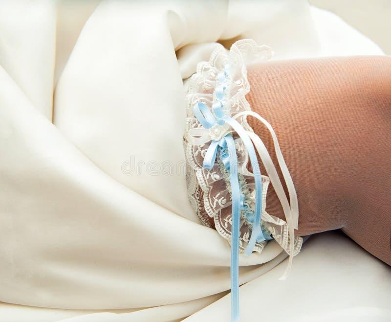 Όμορφο garter δαντελλών στοκ εικόνες με δικαίωμα ελεύθερης χρήσης