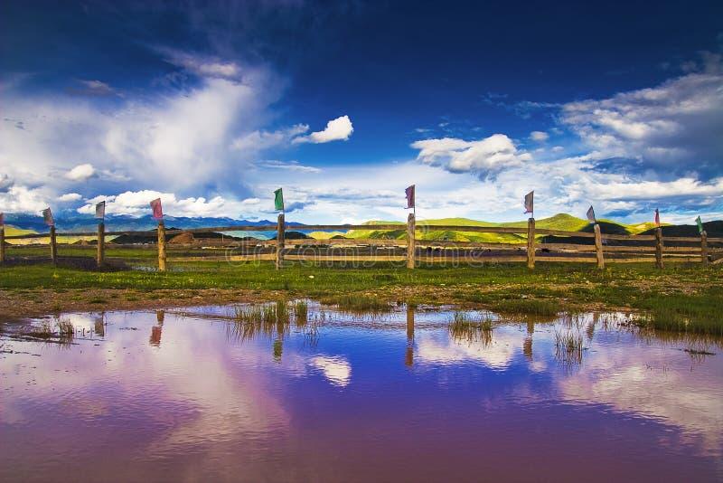 όμορφο shangri Λα στοκ εικόνες με δικαίωμα ελεύθερης χρήσης