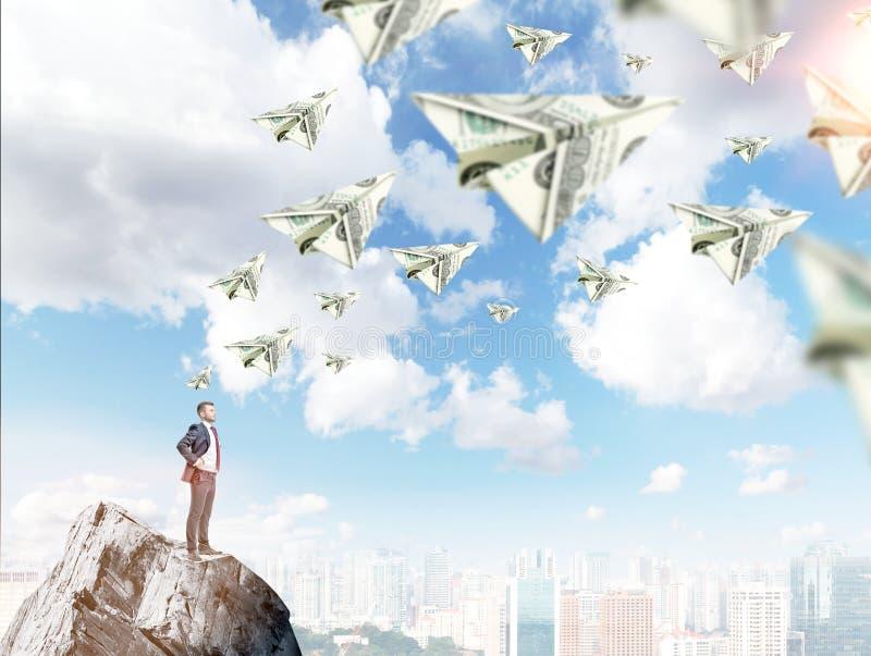 Όνειρα για τα χρήματα στοκ φωτογραφίες