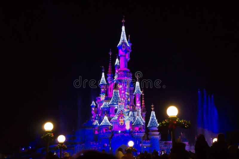 Όνειρα της Disney των Χριστουγέννων στοκ εικόνα με δικαίωμα ελεύθερης χρήσης
