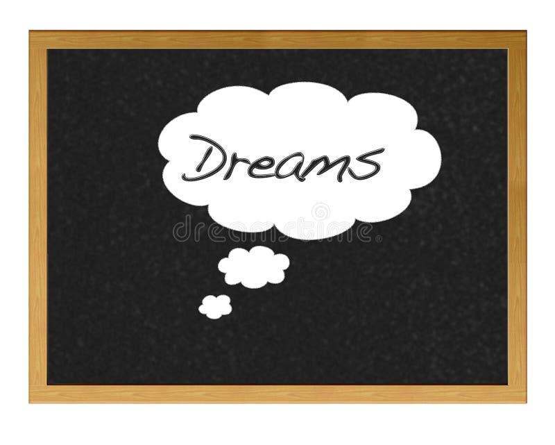 Όνειρα. διανυσματική απεικόνιση