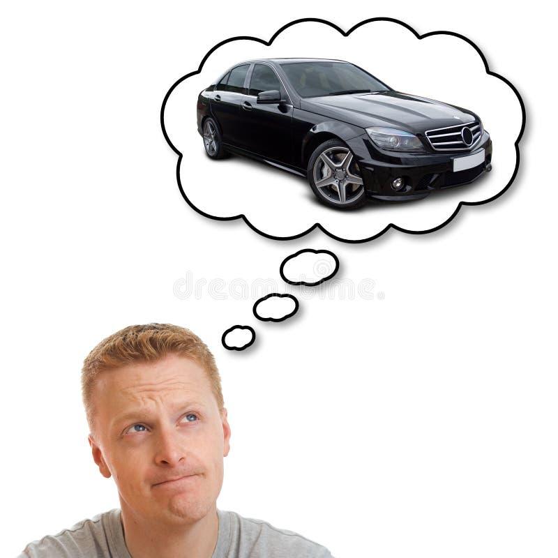 όνειρο αυτοκινήτων στοκ εικόνες