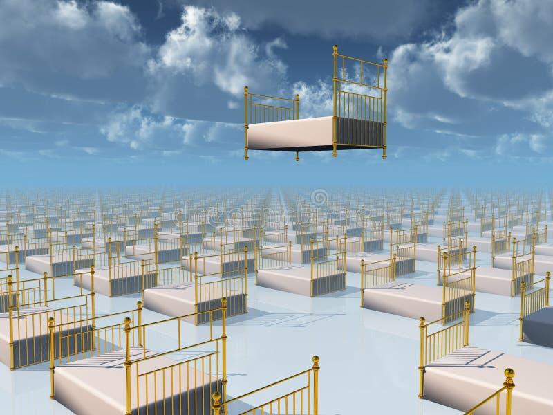 όνειρο ΙΙ διανυσματική απεικόνιση