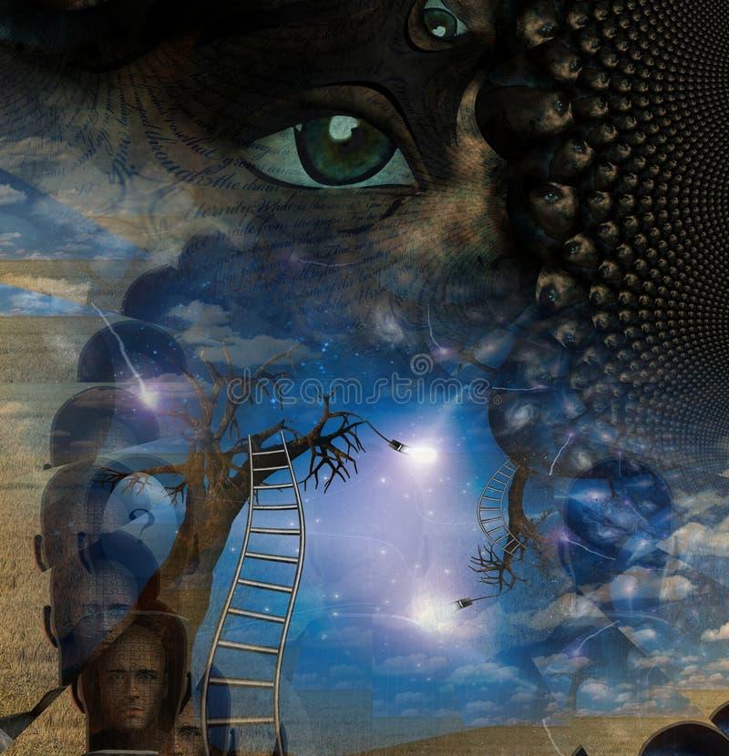 όνειρο σύνθεσης όπως απεικόνιση αποθεμάτων