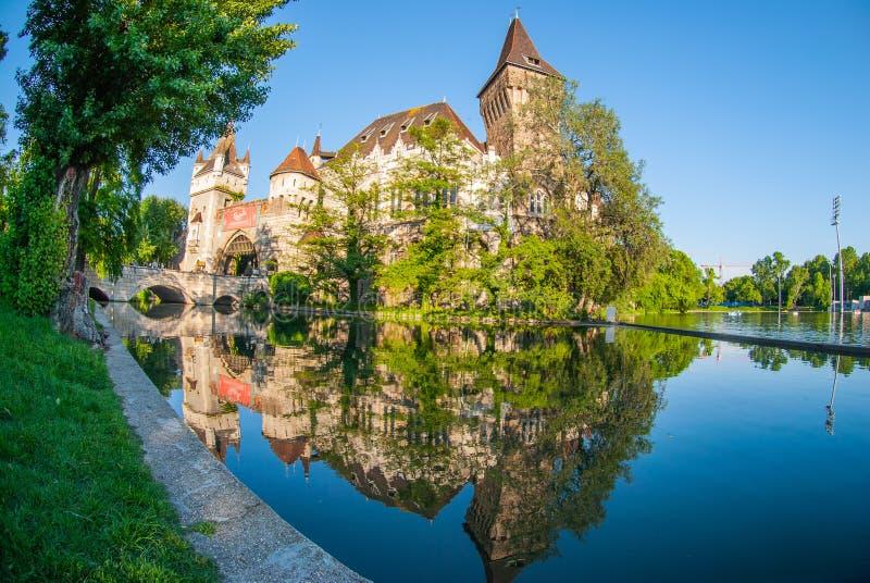 Όνειρο Castle Βουδαπέστη στοκ φωτογραφία