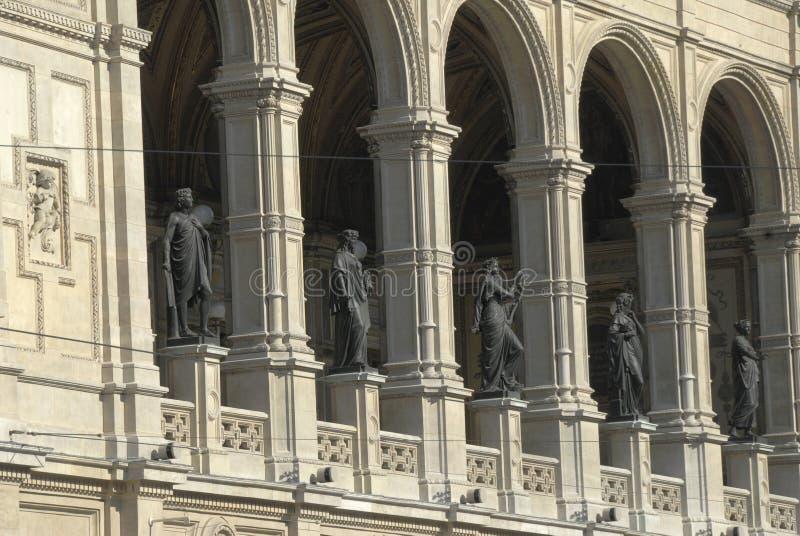 όπερα Βιέννη στοκ φωτογραφία με δικαίωμα ελεύθερης χρήσης