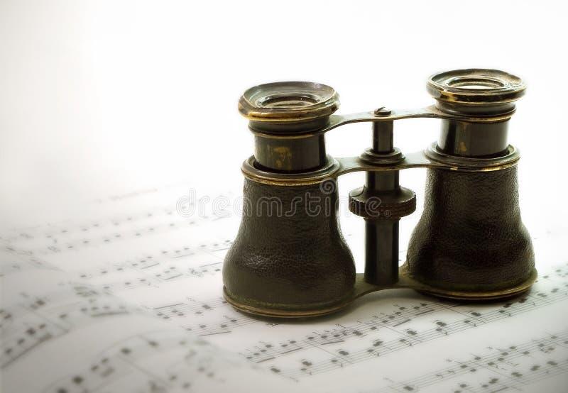 όπερα γυαλιών στοκ εικόνες με δικαίωμα ελεύθερης χρήσης