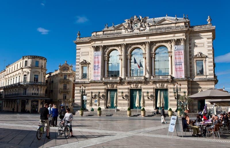 Όπερα εθνικό de Μονπελιέ στοκ φωτογραφία