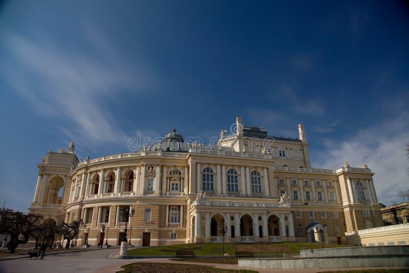 όπερα οικοδόμησης στοκ εικόνες