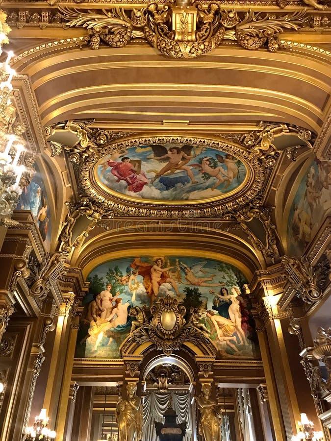 Όπερα πιό granier Παρίσι στοκ φωτογραφίες με δικαίωμα ελεύθερης χρήσης