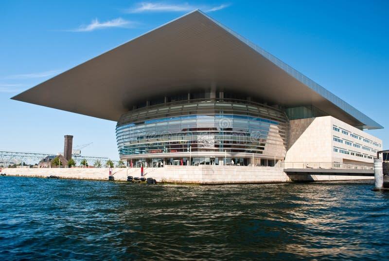 όπερα σπιτιών της Κοπεγχάγ& στοκ εικόνα με δικαίωμα ελεύθερης χρήσης