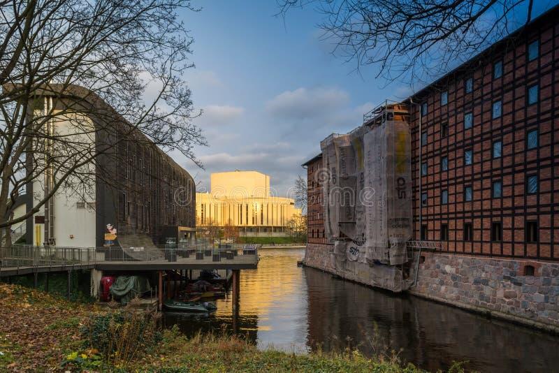 Όπερα στην πόλη Bydgoszcz, Πολωνία στοκ φωτογραφίες με δικαίωμα ελεύθερης χρήσης