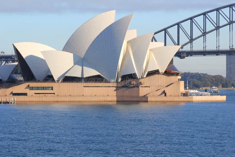 όπερα Σύδνεϋ σπιτιών στοκ εικόνες με δικαίωμα ελεύθερης χρήσης